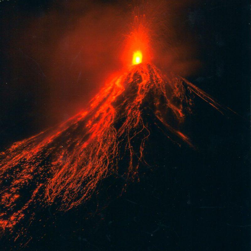 Le magnifique volcan Fuego – Guatemala