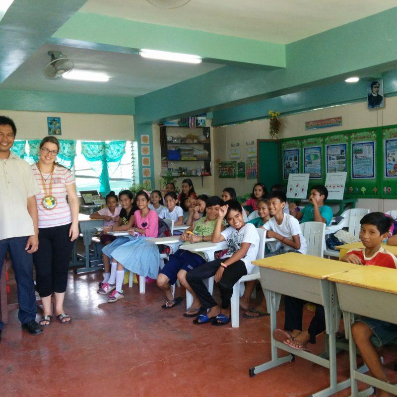 Geneviève en Asie – les Philippines