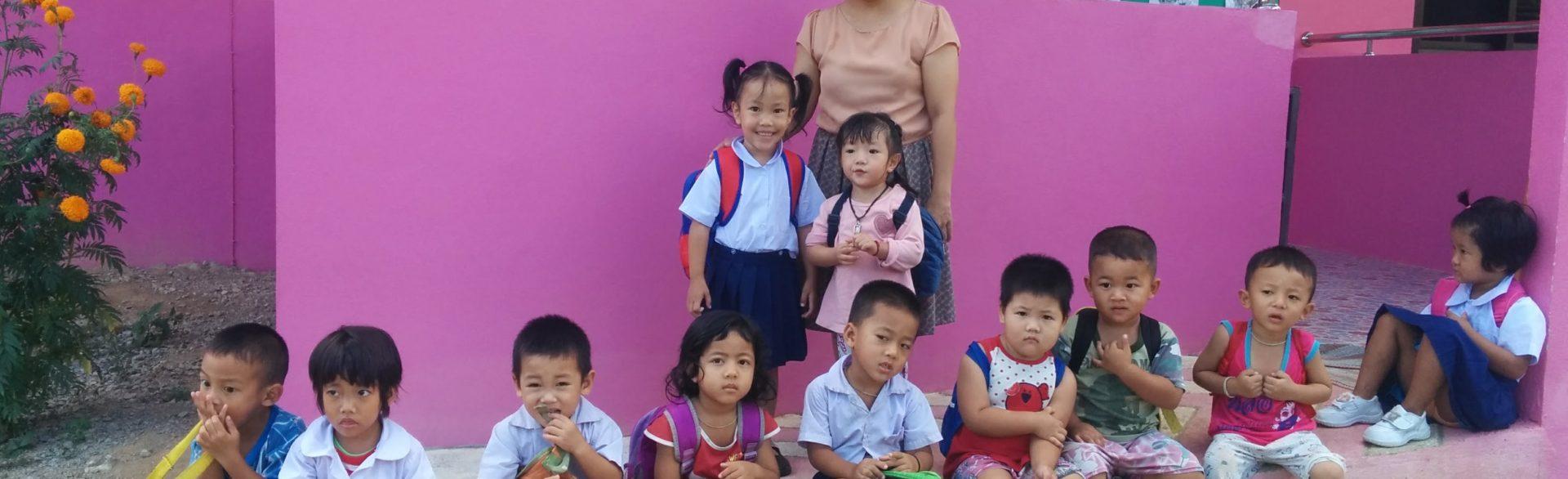 Geneviève en Asie – la Thaïlande