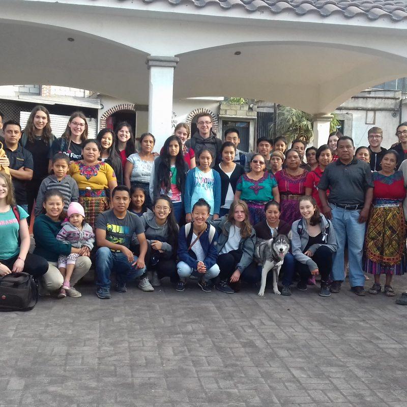 16 étudiants reviennent d'un merveilleux stage au Guatemala
