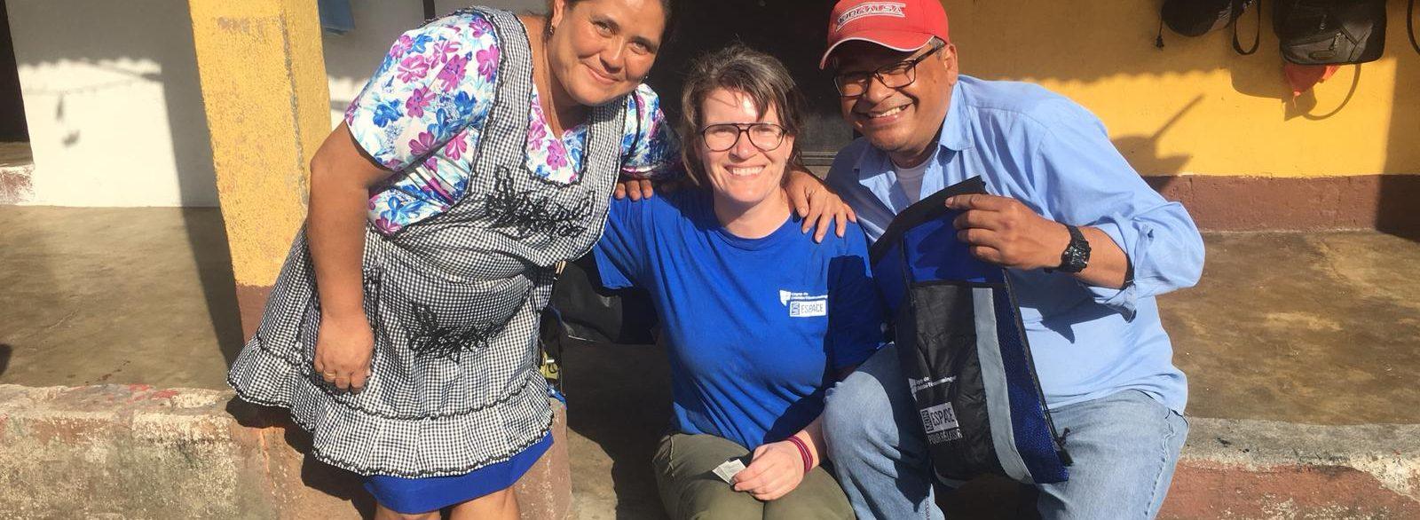 Appui aux sinistrés du volcan Fuego au Guatemala